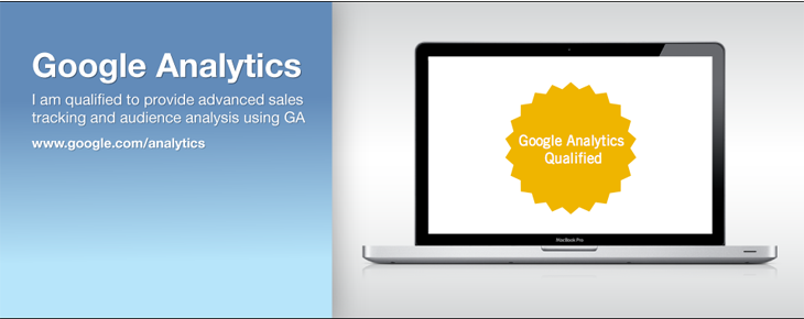 Google Analytics Consultant Intro