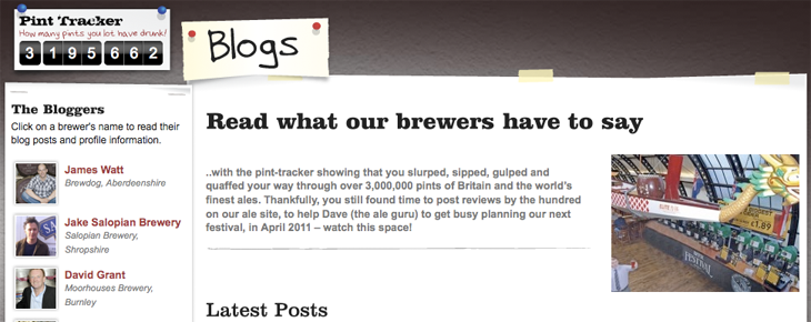 Real Ale Blogs